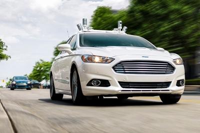 Velodyne on board: Ford's self-driving development vehicle