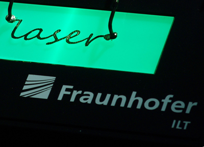 Fraunhofer ILT focuses on interactions between lasers and materials.