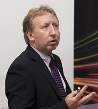Prof Graham Reed, Head of Si-Photonics.