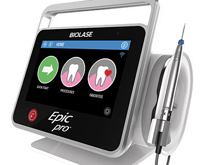 Biolase's Epic Pro laser diode-based dental system.