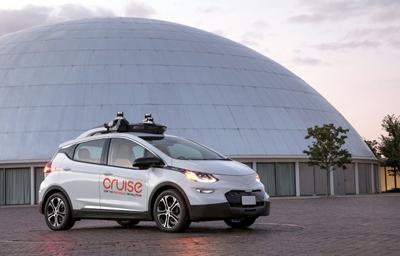 GM's Cruise Automation makes autonomous car technology.
