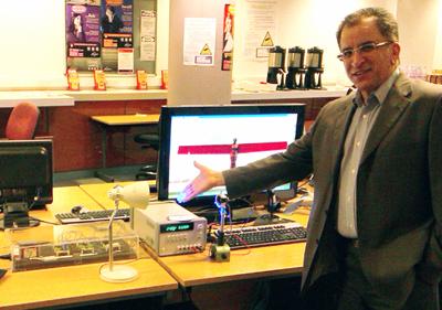 Professor Zabih (Fary) Ghassemlooy.