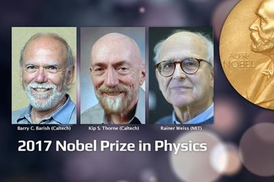 LIGO pioneers: Barish, Thorne and Weiss