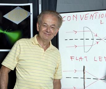 Comb innovator: Federico Capasso.