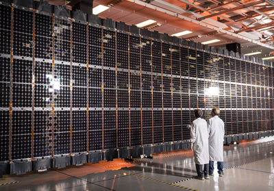 Multi-mission Modular Solar Array opens at Lockheed Martin's Sunnyvale site.