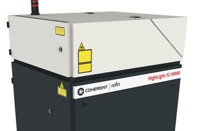 Industrial focus: Coherent's 10kW fiber laser