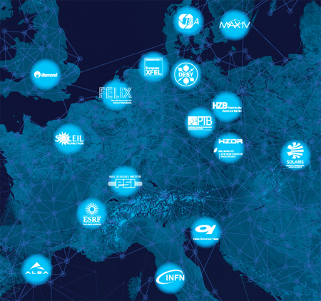 A giant LEAP: The 16 organisations across Europe.
