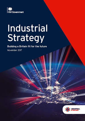 UK's new Industrial Strategy.
