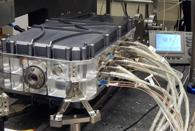 On show at Photonics West: Fraunhofer ILT's FULAS platform for spaceborne lasers.