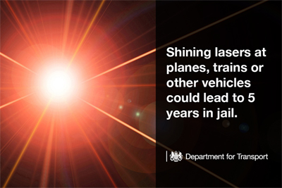 UK Government warning: culprits face jail and/or unlimited fines.