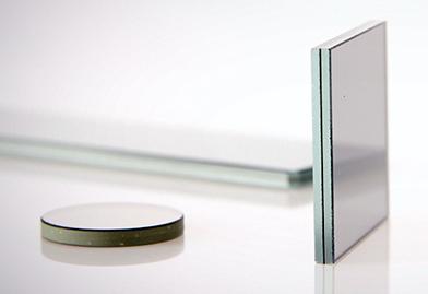 Typical output: ITOS's CPG circular polariser glass laminate.