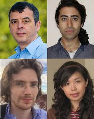 Marian Florescu, Sherwin Sahba, Steven Sellers and Weining Man