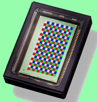 Snapshot mosaic RGB + NIR multi-spectral image sensor.