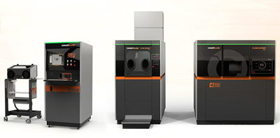 Concept Laser's multi-laser systems for additive manufacturing.