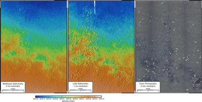 Hi-res bathymetry with subsea lidar
