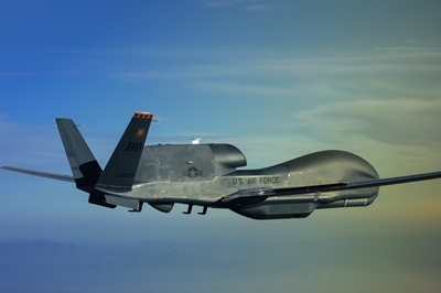 Spy drone: the 'RQ-4 Global Hawk'