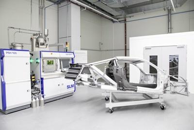 Audi's SLM equipment