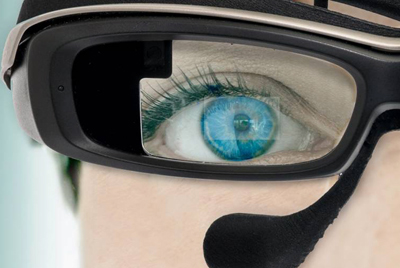 Eye-eye: imec-Holst system has applications in virtual and augmented reality.