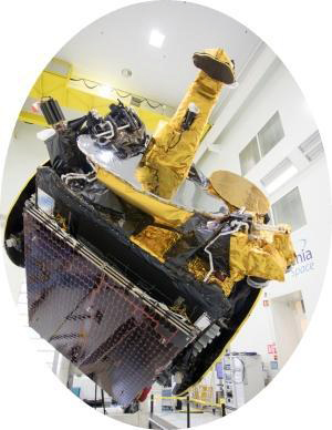 KOREASAT-7 telecommunications satellite.