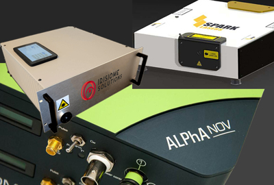 On show in Munich: new releases from Irisiome, Spark and Alphanov.