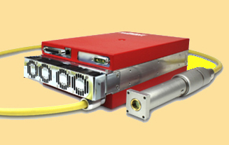 SPI Lasers' 100W redENERGY pulsed fiber laser.