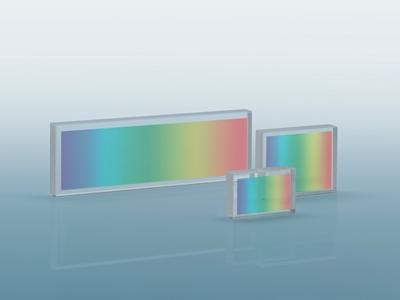 Pulse compression gratings
