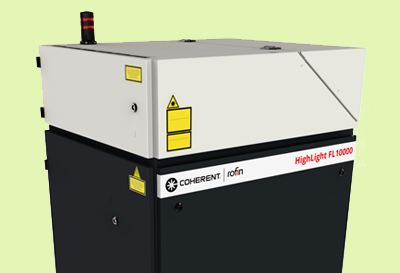 Coherent's HighLight 10000 Fiber Laser.