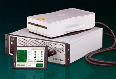 Ekspla's Femtolux 3 fiber laser.