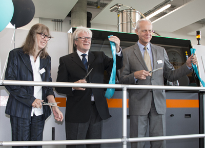 Grand opening of the world's largest selective laser melting facility.