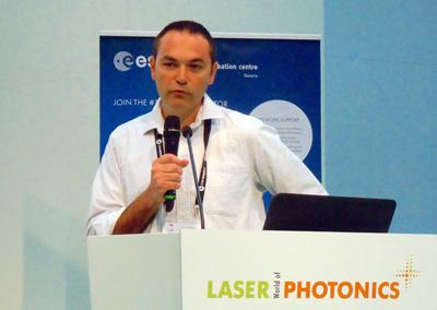 Startup Winner: Eran Hochstadter, Head of Business at Continuse Biometrics.