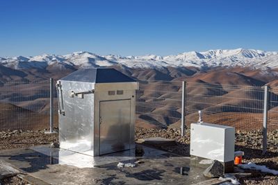 MASCARA (Multi-site All-Sky CAmeRA) station at ESO's La Silla Observatory in Chile.