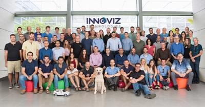 Innoviz team (including Winston the labrador)