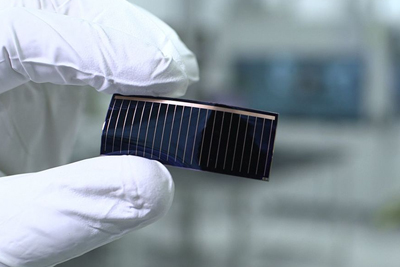 Up on the roof: Alta Devices / Hanergy's thin-film solar cells.
