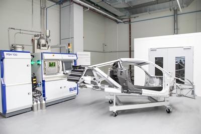 SLM280 machine at Audi