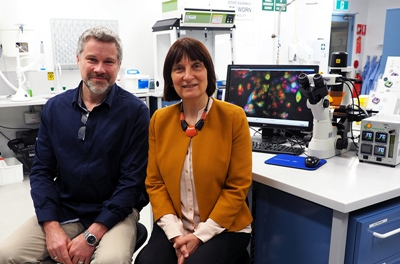 CNBP researchers Gosnell and Goldys