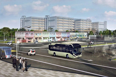 Ding ding! Volvo and NTU will test autonomous, electric buses in Singapore.