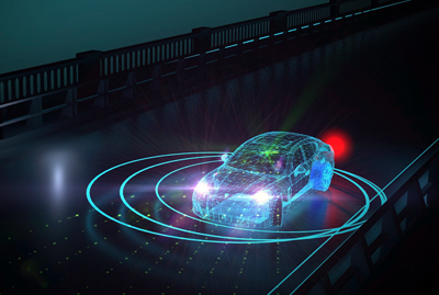 Beep beep! Osram IR pulsed lasers at 905 nm are used in many LIDAR applications.