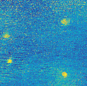 Seeing the dots: a modified super-resolution approach