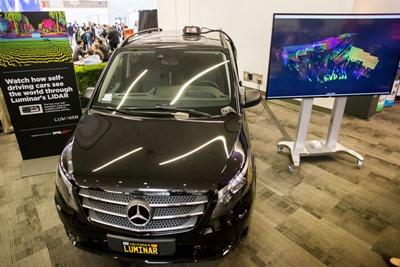 Luminar Technologies' lidar at Photonics West