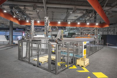 Bystronic's automated production line
