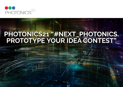 Do you have a novel photonics system idea? If so, tell Photonics21 to win.