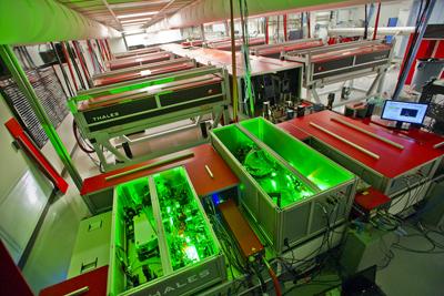The BELLA petawatt laser.
