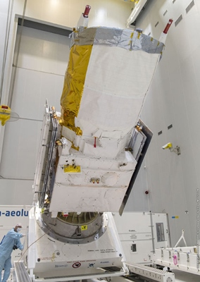 Lumibird inside: ESA's Aeolus mission payload