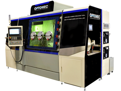 Optomec's Lens 860 Hybrid Controlled Atmosphere system.