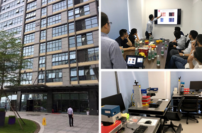 New Shenzhen Facility in China; customer presentations; and the applications lab.