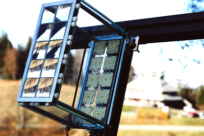 High-Concentration Photovoltaic module with record high efficiency of 41.4%.