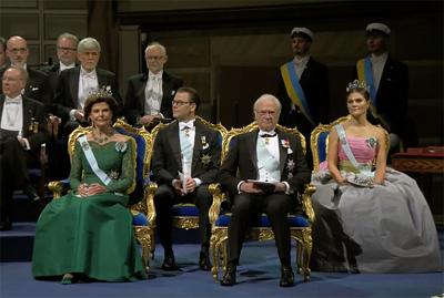 The gathering included the King of Sweden Carl XVI Gustaf and Queen Silvia.