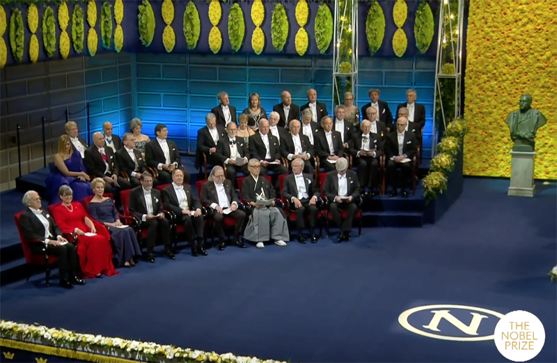 Since 1901, the Nobel Prizes have been presented in Stockholm to Nobel Laureates at ceremonies on 10 December, the anniversary of Alfred Nobel's death.