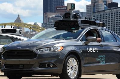 Uber's autonomous vehicle development