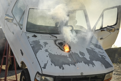 Blowing the doors off: Lockheed's 'ATHENA' laser weapon